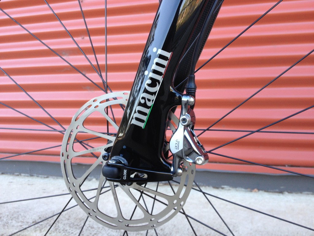 Up close and personal with the Macini paint - you won't find any flaws on these bikes