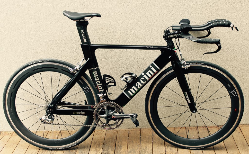 Macini TT - built by Brad to fit the needs of his customer exactly.
