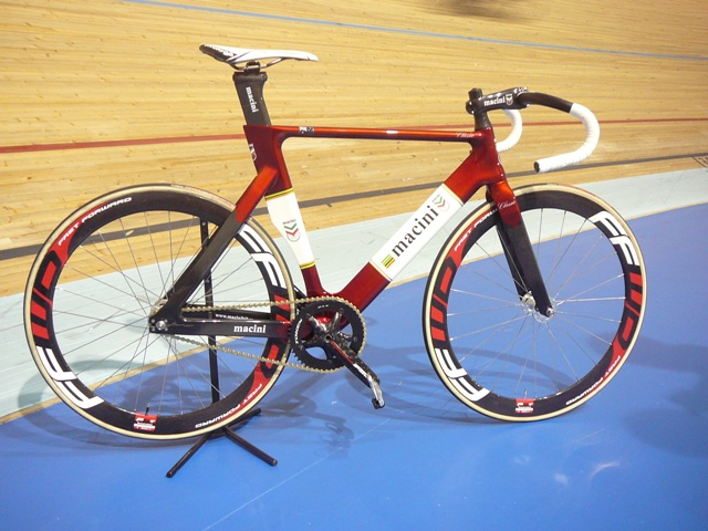 Macini Track Classic - Jay Sweet will be riding this frame in the Bendigo Madison