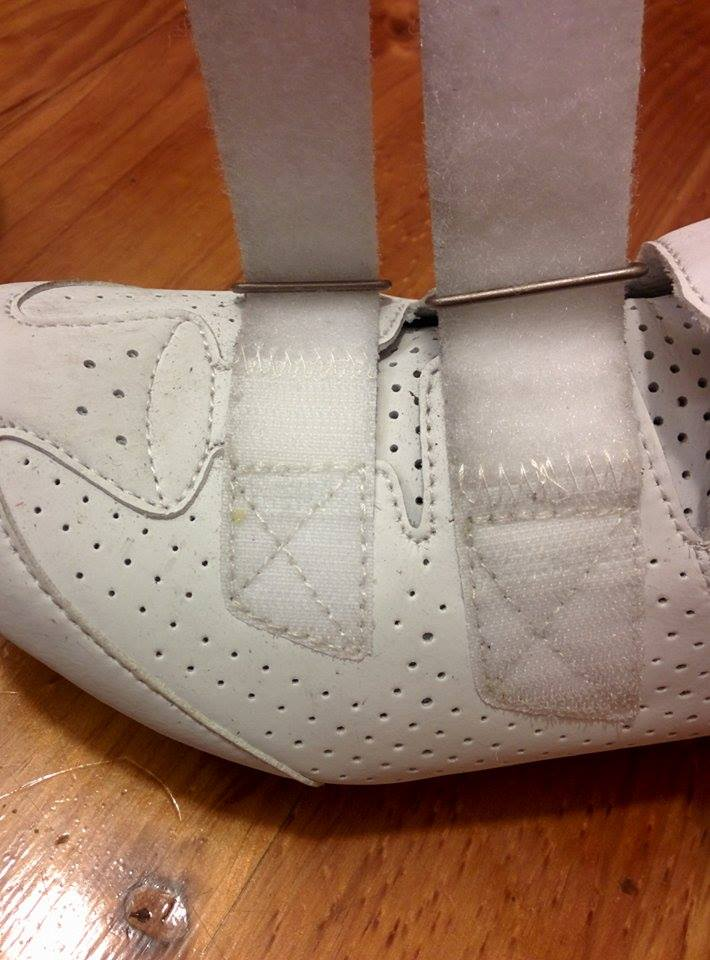 Just like white bar tape, white shoes are hard to keep pristine