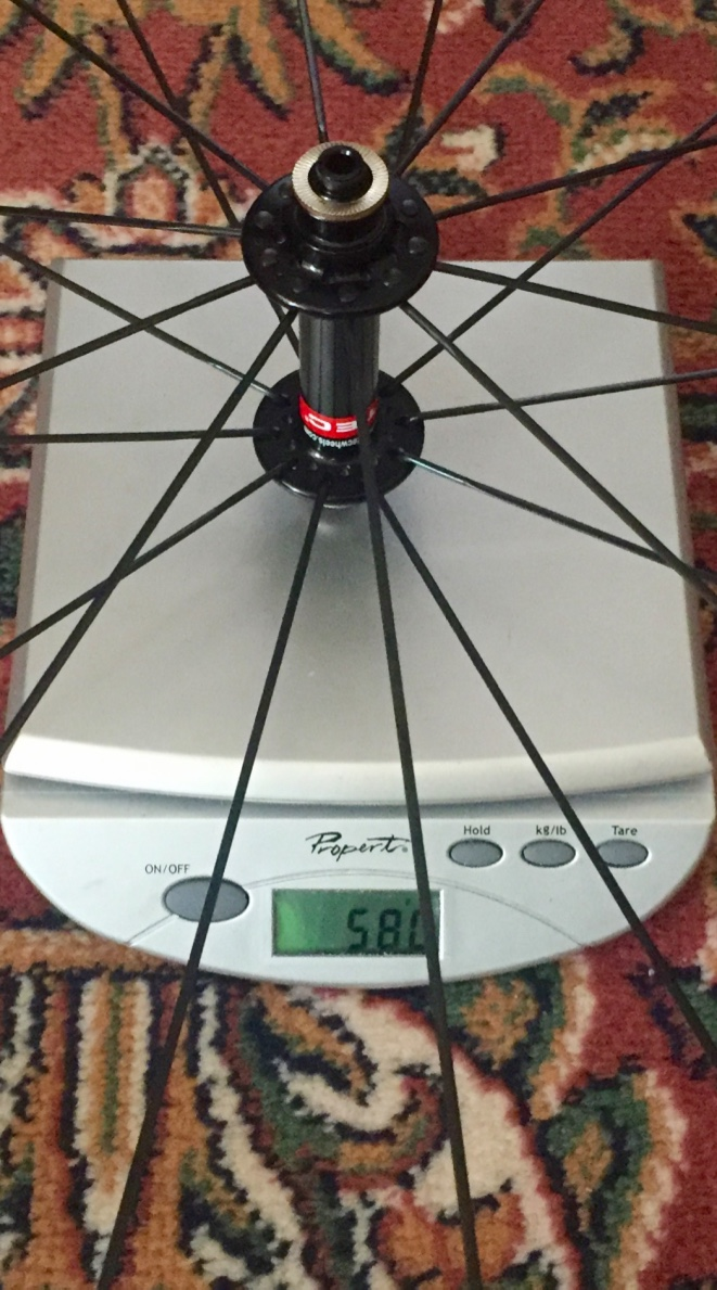 Front wheel weight