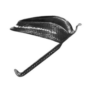 NEW Campagnolo Super Record Carbon Water Bottle Cage with Bottle