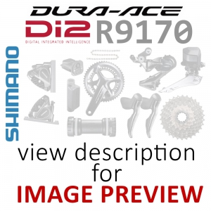 Shimano Dura Ace Di2 R9170 Groupset Road Disc Internal Battery Built