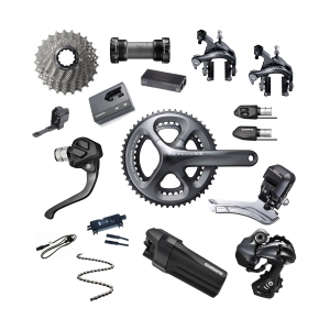 6ef784e7a83 Shimano Ultegra Di2 6870 groupset 11s TT internal cable routing with  external battery