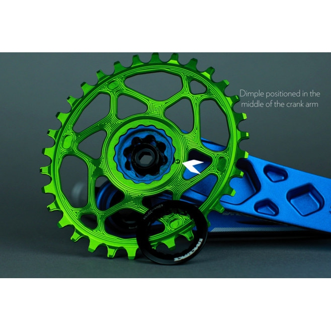 RaceFace Narrow-Wide 34T CINCH Direct Mount MTB Chainring 9//10//11//12-Speed MTB