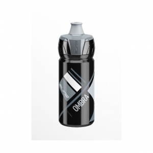 Elite Crystal Ombra Squeezable Water Bottle 550 ml Clear x Grey