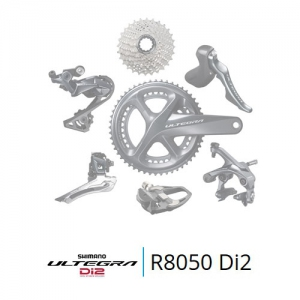 6743ff3cec2 Shimano Ultegra Di2 R8050 groupset TT/Triathlon internal battery built-in  frame type