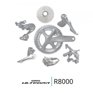 Shimano Ultegra R8020 groupset 2/11-speed mechanisch Road with disc