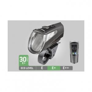 trelock ls 460 led battery light i go power black incl. Black Bedroom Furniture Sets. Home Design Ideas