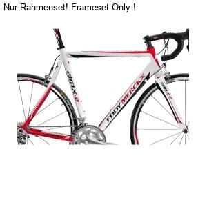 Eddy Merckx AMX-2 RH frameset white/red