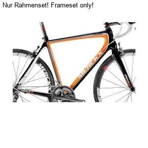 Eddy Merckx Emx 3 Rh Frameset Black Orange Bko