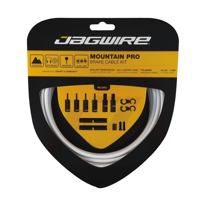 Premium Jagwire Shimano Sram Brake only Cables and Housing Shop Kit Mountain