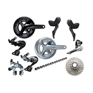 19e08cea3fe Shimano 105 R7000 11-speed groupset with mechanical rim brakes 2019