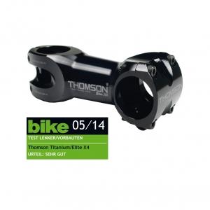 Thomson Elite X4 Mountain Bike Stem 50mm 31.8mm Silver SM-E130