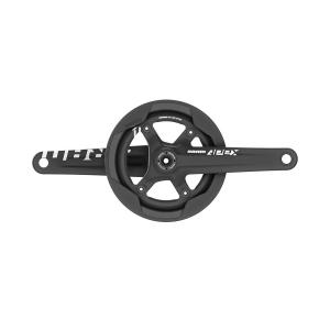 Chainring 48T Includes GXP BB SRAM Omnium 172.5mm Track Crankset Black Arms