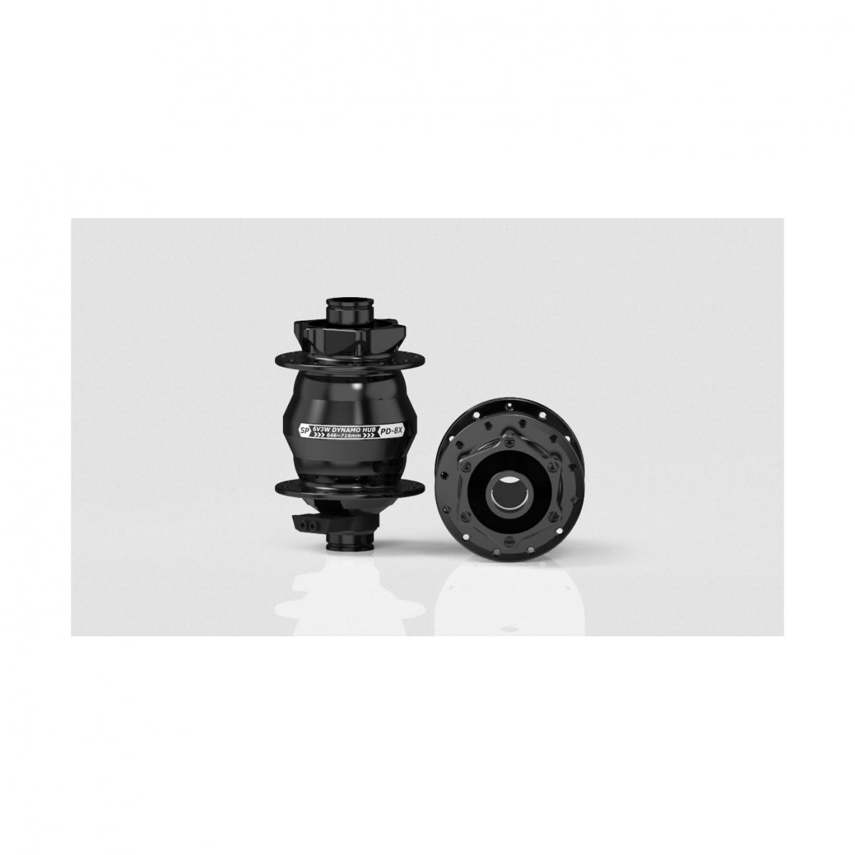 black Shutter Precision 15x100mm 32h SP PD-8X IS-disc front T-A hub