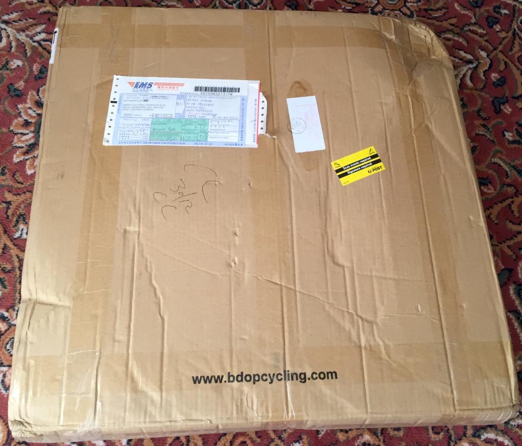 BDop packaging is plain